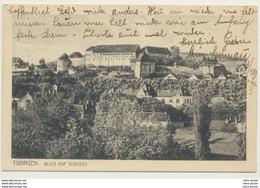 AK  Tübingen Blick Auf Schloss 1915 - Tuebingen