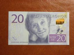 Suède - Billet De 20 Kronor - Astrid Lindgren - Neuf - Non Daté (2015) - P69a - Svezia
