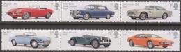 Great Britain - Gran Bretagna 2013 UnN°4096/01 6v MNH/** Automobili Britanniche - Nuovi