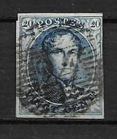 OBP4 Met 4 Randen En Balkstempel P24 - 1849-1850 Medallions (3/5)