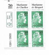 Marianne L' Engagée Surchargée  50 Ans De L'imprimerie - Non Classificati