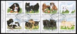 1998 Finland Puppies Booklet Pane FD Stamped. - Markenheftchen