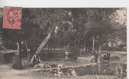 YVELINES - LE VESINET - Lac Inférieur Le Gué  ( - Timbre à Date De 1906 ) - Le Vésinet