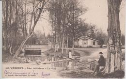 YVELINES - LE VESINET - Lac Inférieur Le Gué  ( - Timbre à Date De 1902 ) - Le Vésinet
