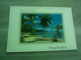 SOUVENIR DES SEYCHELLES - ANSE AUX PINS - MAHE - EDITIONS EDEN LTD - ANNEE 2001 - - Seychelles
