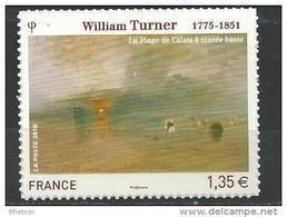 """FR Adhesif YT 402 (4438) """" Tableau William Turner """" 2010 Neuf** - Sellos Autoadhesivos"""