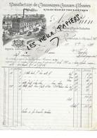 26 - Drôme - ROMANS - Facture RONIN - Manufacture De Chaussures, Galoches - 1898 - REF 172A - 1800 – 1899