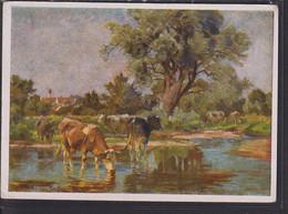 B69 /   Haus Deutscher Kunst HDK 1012 / Kühe 1944 - Otros Ilustradores