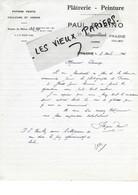 39 - Jura - MIGNOVILLARD - Facture BOZINO - Plâtrerie, Peinture, Papiers Peints, Couleurs Et Vernis - 1944 - REF 172A - 1900 – 1949