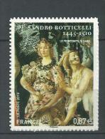 """FR Adhesif YT 492 (4518) """" Sandro Botticelli """" 2010 Neuf** - Adhesive Stamps"""