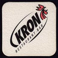 Beer Mats / Forst, Italy / Kron Restaurant Bar / Rooster / Bier / Coaster, Mat - Beer Mats