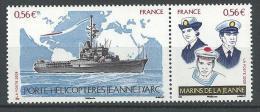 "FR YT P4423 Paire "" Navire Jeanne D'Arc "" 2009 Neuf** - Nuovi"