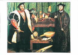►◄  HOLBEIN  Les Ambassadeurs Français Globe  Oud  Luth - Malerei & Gemälde
