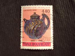 """1990-99 - Oblitéré N°  2857  """"   Vase Dalpayrat """"   """"   Paris, Rue Crozatier   """"      Net   0.40 - Used Stamps"""