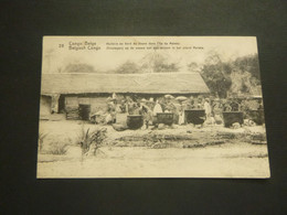 Congo Belge ( 384 )  Belgisch Kongo   Entier Postal   Postwaardestuk - Congo Belga - Altri