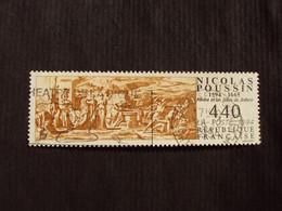 """1990-99 - Oblitéré N°  2896  """"   Tableau Poussin """"  """"  Toulouse, St Cyprien  """"      Net    0.70 - Used Stamps"""