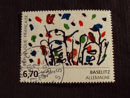 "1990-99 - Oblitéré N°  2914  ""   Tableau Baselitz""      ""   Mennecy ""      Net    0.60 - Used Stamps"