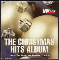THE CHRISTMAS HITS ALBUM [THE MIRROR PROMOTIONAL PROMO CD] VERY GOOD CONDITION XMAS SONGS MUSIC CAROLS - Canzoni Di Natale
