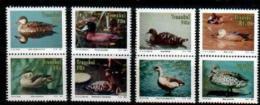 TRANSKEI, 1992,  MNH Stamp(s), Waterfowl,   Nr(s)  287-294 - Transkei
