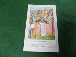 VINTAGE TOPICS NOVELTY: The Comic History Of England #3 Magna Carta Art Caswell - Altri