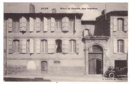 AUCH - Hotel De Gauran, Place Saint Orens (carte Animée) - Auch