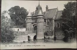 Cpa, Environs De DOUAI 59, Le Château De Wagnonville, éd LL, Non écrite - Douai