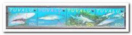 Tuvalu 2000, Postfris MNH, WWF, Fish - Tuvalu