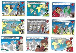 Lot De 24 Images à Gratter Neuves LA VACHE QUI RIT  Les Grands Aventuriers   (recto-verso) - Sin Clasificación