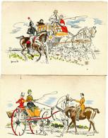 Barré Dayez 2 Cartes 1502 A 1502 B - Andere Zeichner