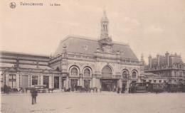 Petit Plan De Tramway Devant La Gare De Valenciennes Nord édition Thill à Bruxelles Chemin De Fer Railway Station - Valenciennes