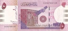 SOUDAN 5 POUNDS 2006 AUNC P 66 - Sudan