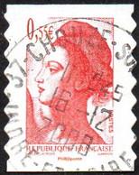 France Oblitération Cachet à Date N° 4294 Ou 232 Autoadhésif - Visage De La (5ème) République. Liberté De Gandon - Usados