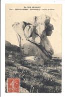 PERROS GUIREC  Ploumanac'h  La Tête De Bélier  1908   ( 50447) - Perros-Guirec
