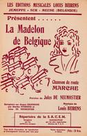 """Jemeppe-sur-Meuse -Les éditions L.Beirens Présentent """"La Madelon De Belgique"""" - Partitions Musicales Anciennes"""
