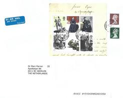 UK 2020 Wiveliscombe Jane Eyre Novel Author Writer Charlotte Brontë Block Cover - Blocks & Kleinbögen