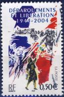 3675 60e ANNIV DEBARQUEMENT  OBLITERE ANNEE 2004 - Gebruikt