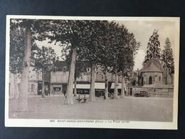 """FRANCE, FRANCIA......."""" SAINT - AMAND MONTROND """".......La Place Carree - Saint-Amand-Montrond"""