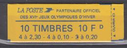 FRANCE - Carnet 1502 (fermé) Cote 32 Euros Depart A 10% - Definitives