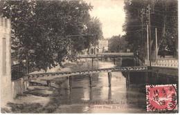 FR66 PERPIGNAN - DF 21 - La Basse - Nouveau Pont De L'alcazar - Belle - Perpignan
