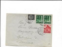 Brief Aus Köln Nach Dänemark 1939 - Cartas