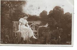 L220A332 -  Jeune Femme Dans Un Décor Buccolique - XSSB N°1091/2 - Carte Italienne - Women