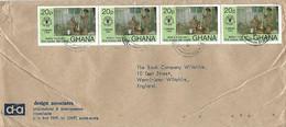 Ghana 1981 Accra North FAO Food Cassava Pounding Fufu Cover - Ghana (1957-...)