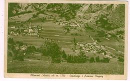 AOSTA OLLOMONT CAPOLUOGO E FRAZIONE CLAPPERY - Aosta