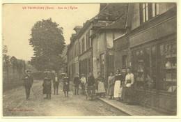 Dt 27 LE TRONQUAY  Rue De L'Eglise  (animation) - Otros Municipios