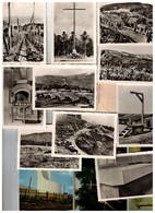 Photos Camp Du STRUTHOF (10 Noir/blanc 1942, Dépliant 12 Photos Couleurs Post-45) - War 1939-45