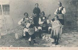 ZARAGOZA - N° 57 - BAILANDO LA JOTA - Zaragoza