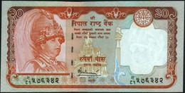 ♛ NEPAL - 20 Rupees Nd.(2006) {sign. Bijay Nath Bhattarai 2005-2007 & 2009-2010} UNC P.55 - Nepal