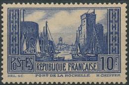 D - [57923]TB//**/Mnh-c:170e-N° 261, 10F Bleu La Rochelle Type III - Ongebruikt