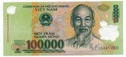 VIÊT NAM // ONE NOTE // 100 000 DONG // (Polymer) // UNC - Vietnam