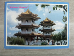 SINGAPORE - CHINESE GARDEN - EDITIONS AMA - ANNEE 1988 - - Singapore